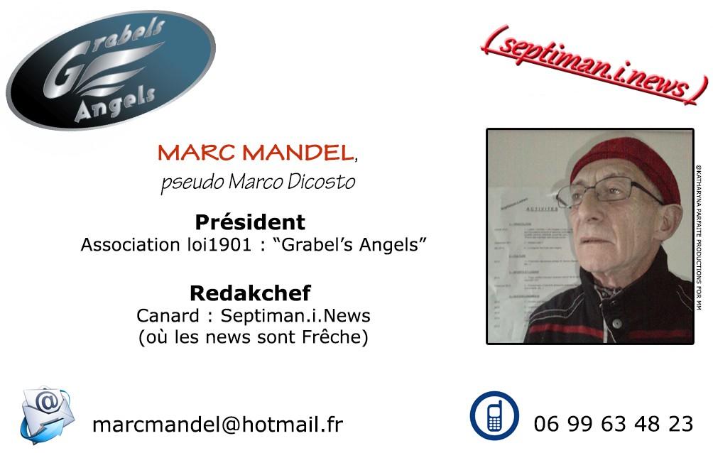 Carte De Visite Grabels Angels Contacter Marc Mandel